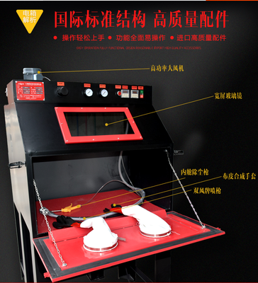 9060手动干式喷砂机